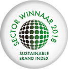 Sector winnaar 2018 van de Sustainable Brand Index